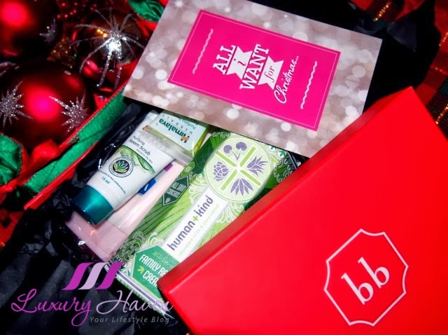 check out december christmas beauty bellabox review