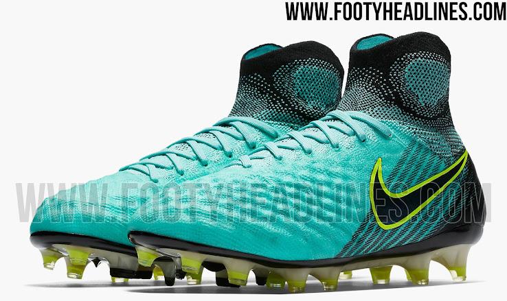 Nike Magista Obra II Light Aqua Nike Magista Obra II 2017 Women's Euro Boots Revealed ...