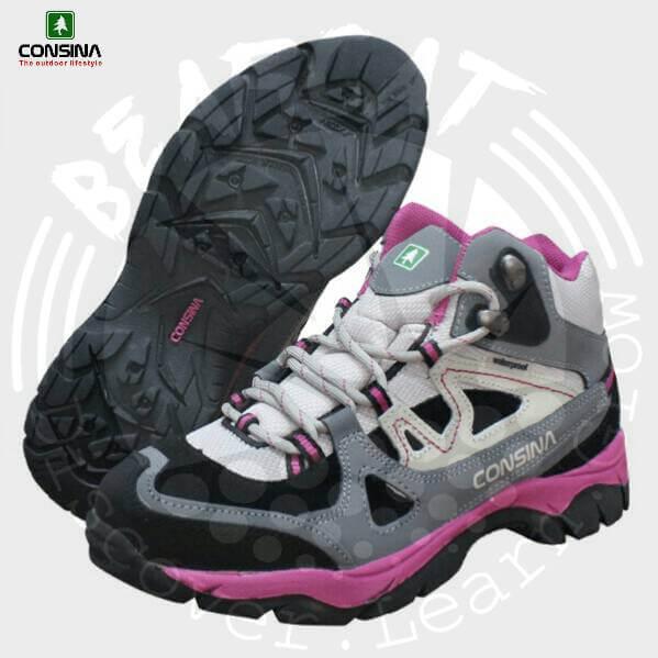sepatu gunung wanita consina alpine wanita