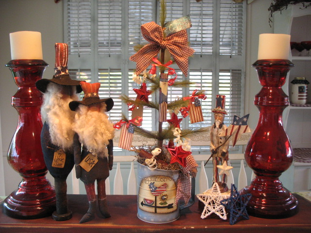 Country Creations By Denise: Primitive Americana Feather