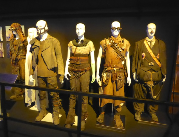 Mad Max Fury Road film costume exhibit