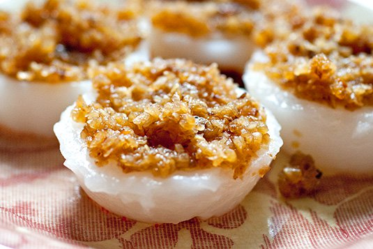 Chwee Kueh 水粿 Water Rice Cakes Recipe