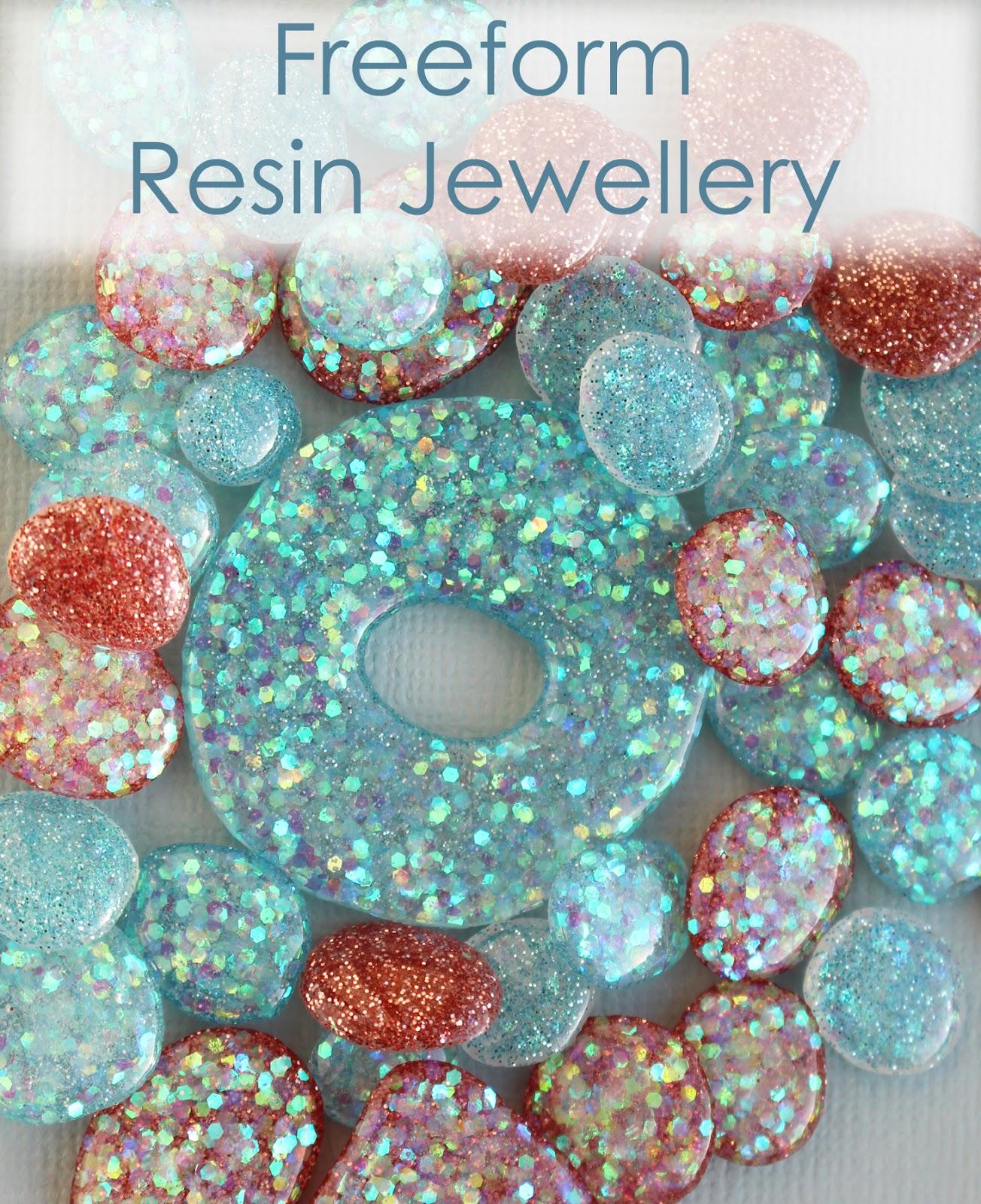 Freeform Resin Jewellery Part 1 Craft Me Happy