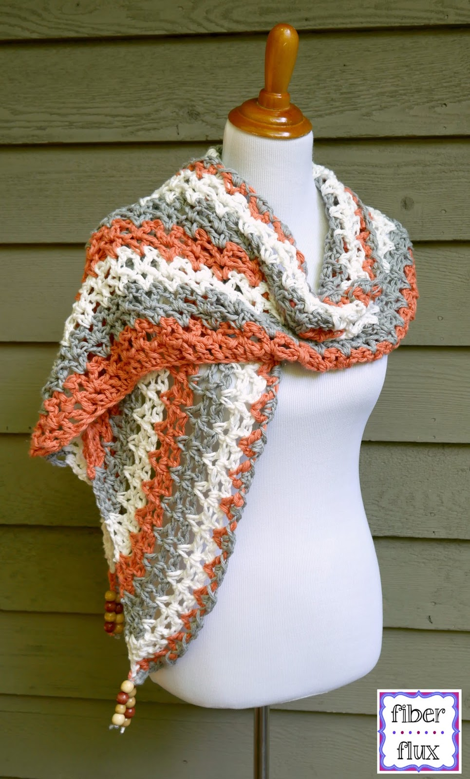 Fiber Flux Free Crochet Patterntidepool Wrap