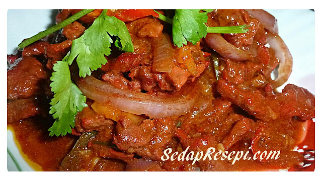 Resepi Daging Masak Merah