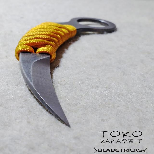 Chisel grind karambit, Bladetricks custom knives