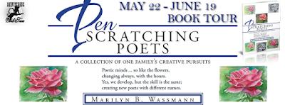 Pen Scratching Poets by Marilyn Benjamin Wassmann w/ giveaway