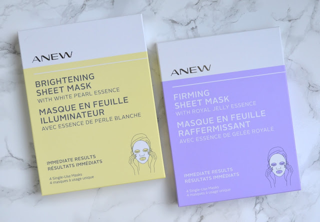 Avon Anew Brightening Sheet Mask Review