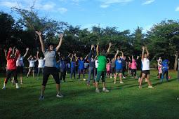Allianz Sweat Challenge: Olahraga dan Tantangan di Taman Terbuka Hijau Allianz Ecopark Ancol