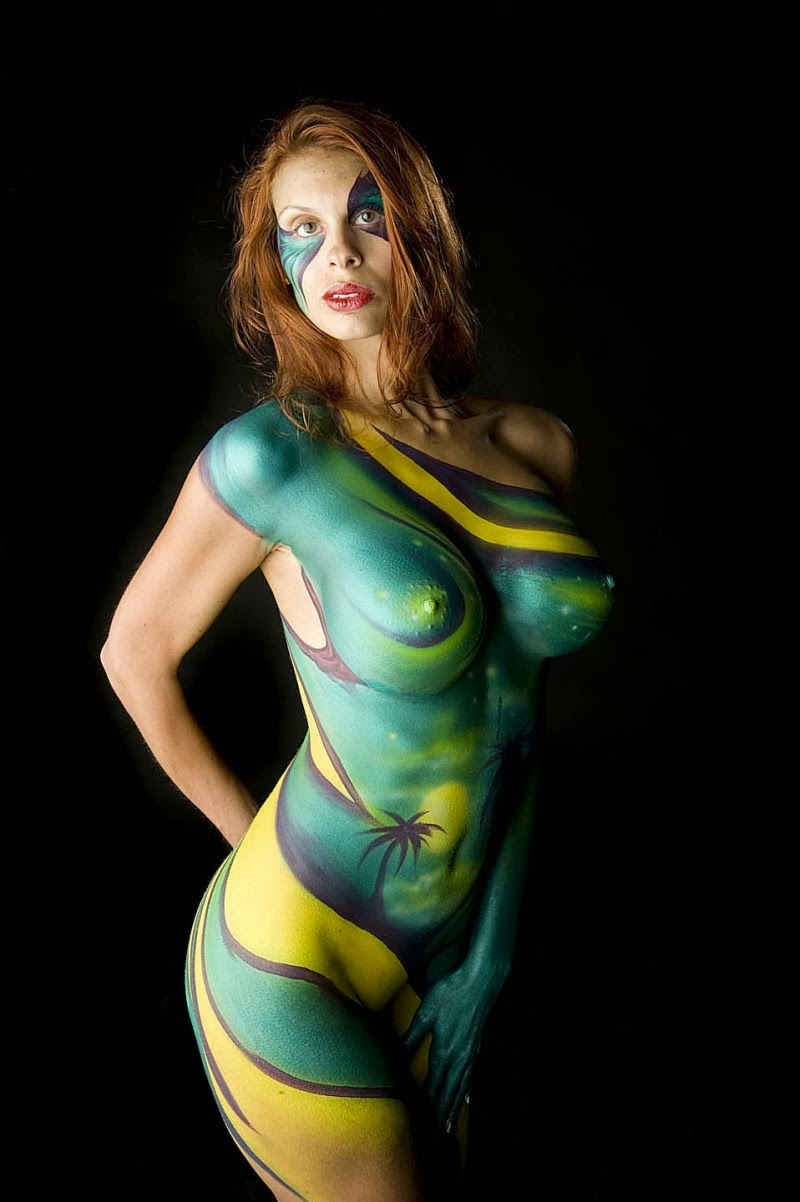 painting art Women body