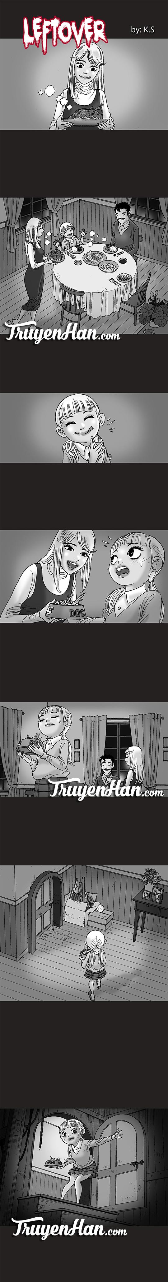 Silent Horror chap 164: Đồ ăn thừa
