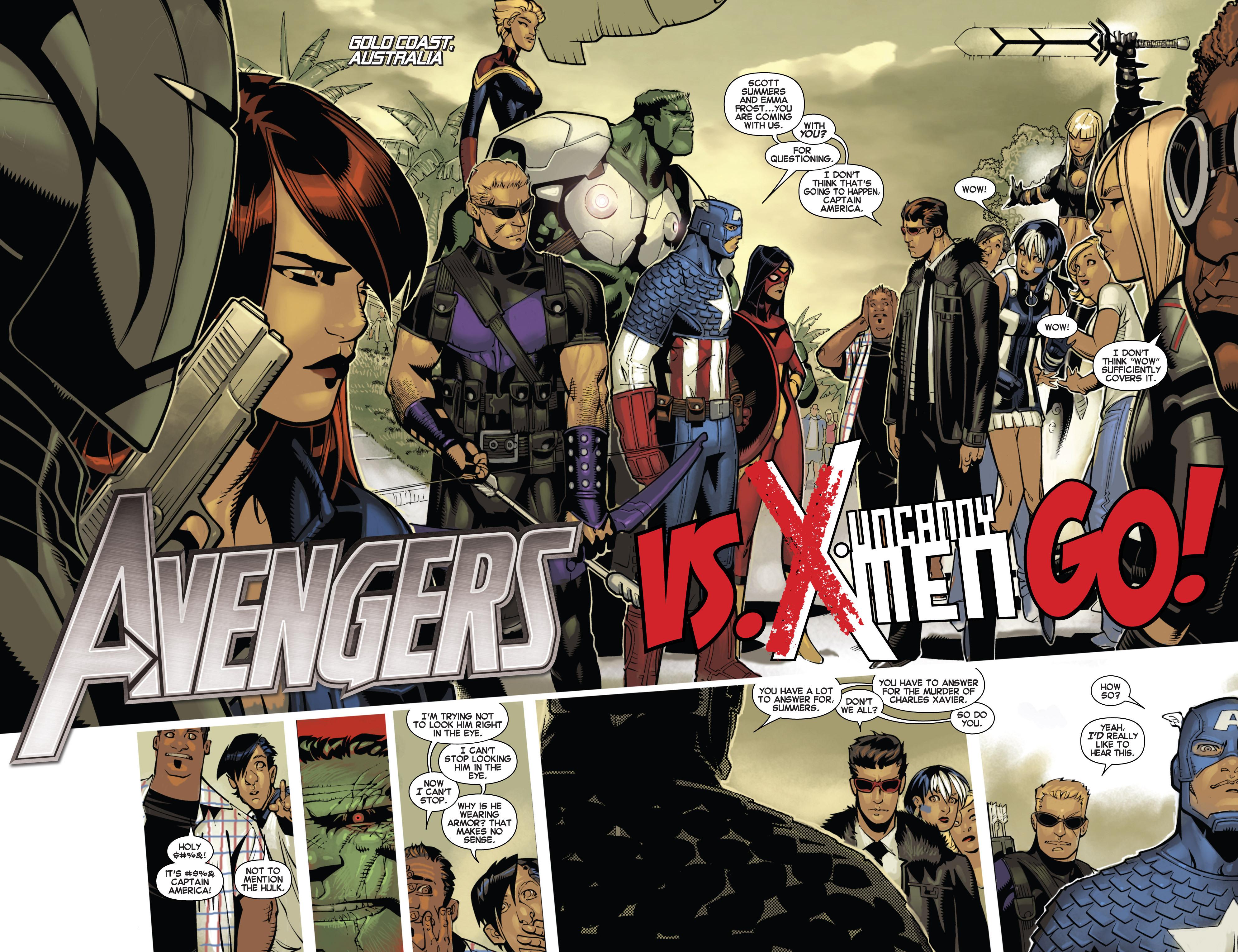 Read online Uncanny X-Men (2013) comic -  Issue #3 - 3