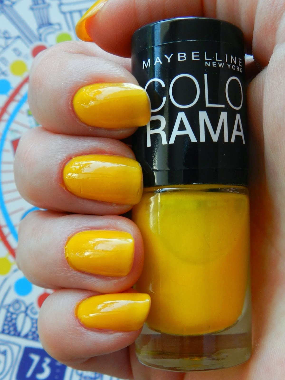 Unfade What Fades Maybelline Colorama Nail Polish 749
