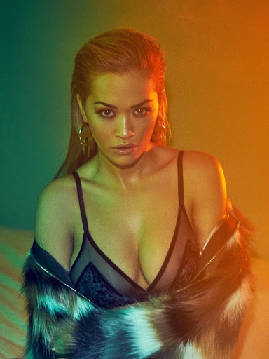 Rita Ora hot in sexy lingerie Vanity Fair Italy magazine photoshoot