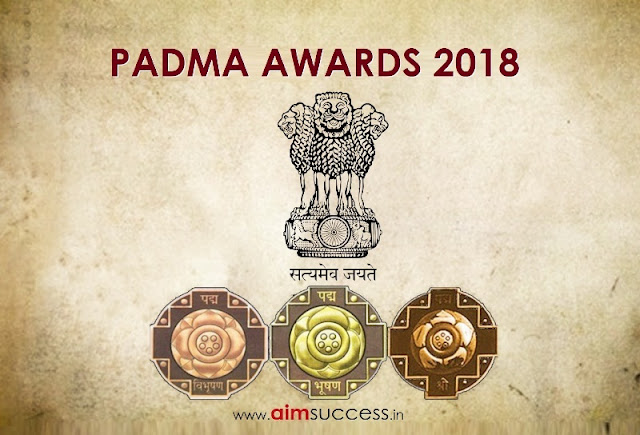 Full List of Padma Awards 2018