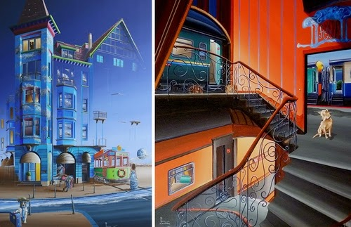 00-Olivier-Lamboray-A-Journey-Through-the-Surreal-World-in-Paintings-www-designstack-co