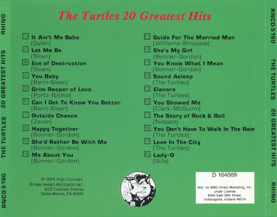 The Turtles - 20 Greatest Hits