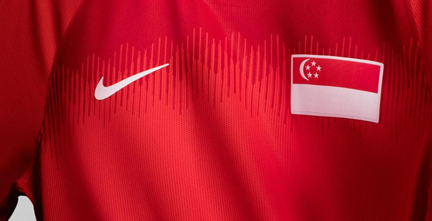 ae1296c03 Nike and the Football Association of Singapore today revealed the new home  and away kits for the next two years. They ll be available to buy