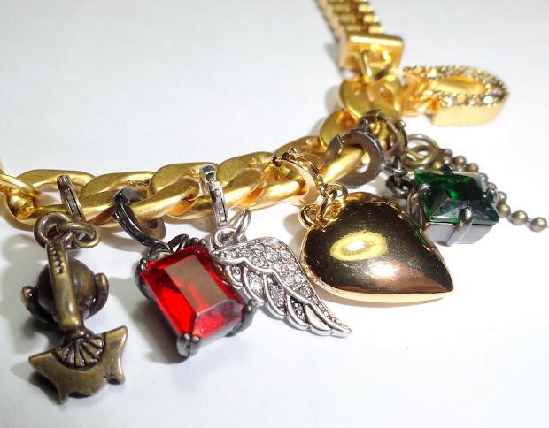 Product Love Juicy Couture Charm Bracelet - Peachesandblush