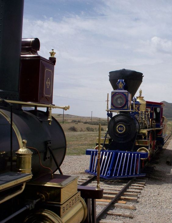 Golden Spike National Historic Site, Utah, USA