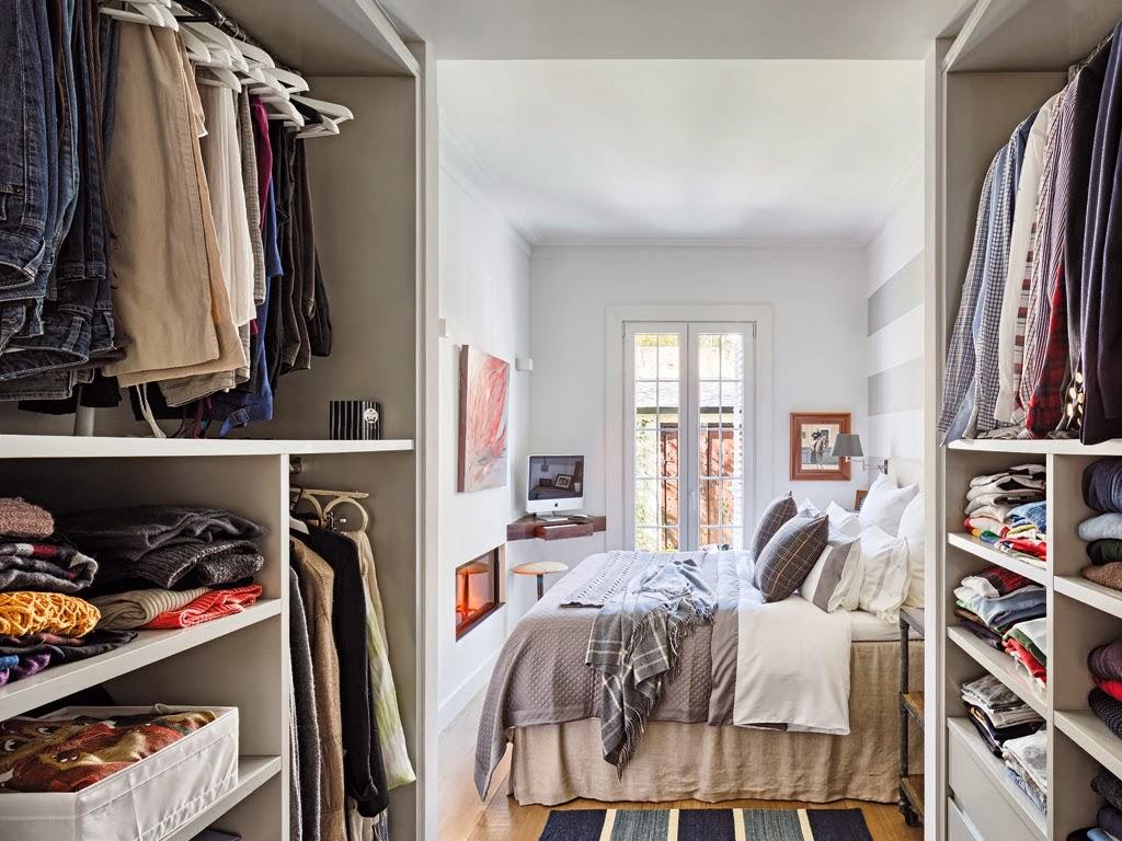 Mieszkanie z kuchnią w stylu loftu z ceglaną ścianą - wystrój wnętrz, wnętrza, urządzanie domu, dekoracje wnętrz, aranżacja wnętrz, inspiracje wnętrz,interior design , dom i wnętrze, aranżacja mieszkania, modne wnętrza, loft, styl loftowy, styl industrialny, małe mieszkanie, małe wnętrza, kawalerka, sypialnia