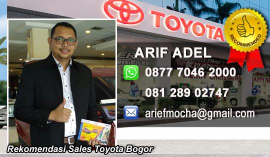 Rekomendasi Sales Toyota Ciawi Cisarua Bogor