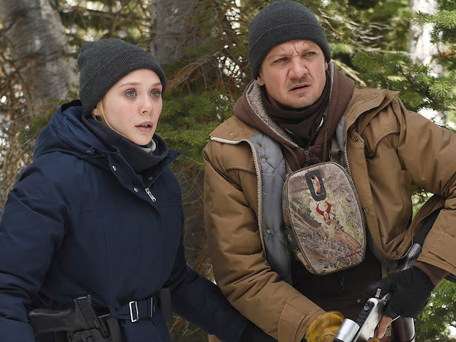 Elizabeth Olsen, Jeremy Renner - Wind River (2017)