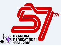 Tema & Logo Resmi HUT Pramuka ke 57 Tahun 2018