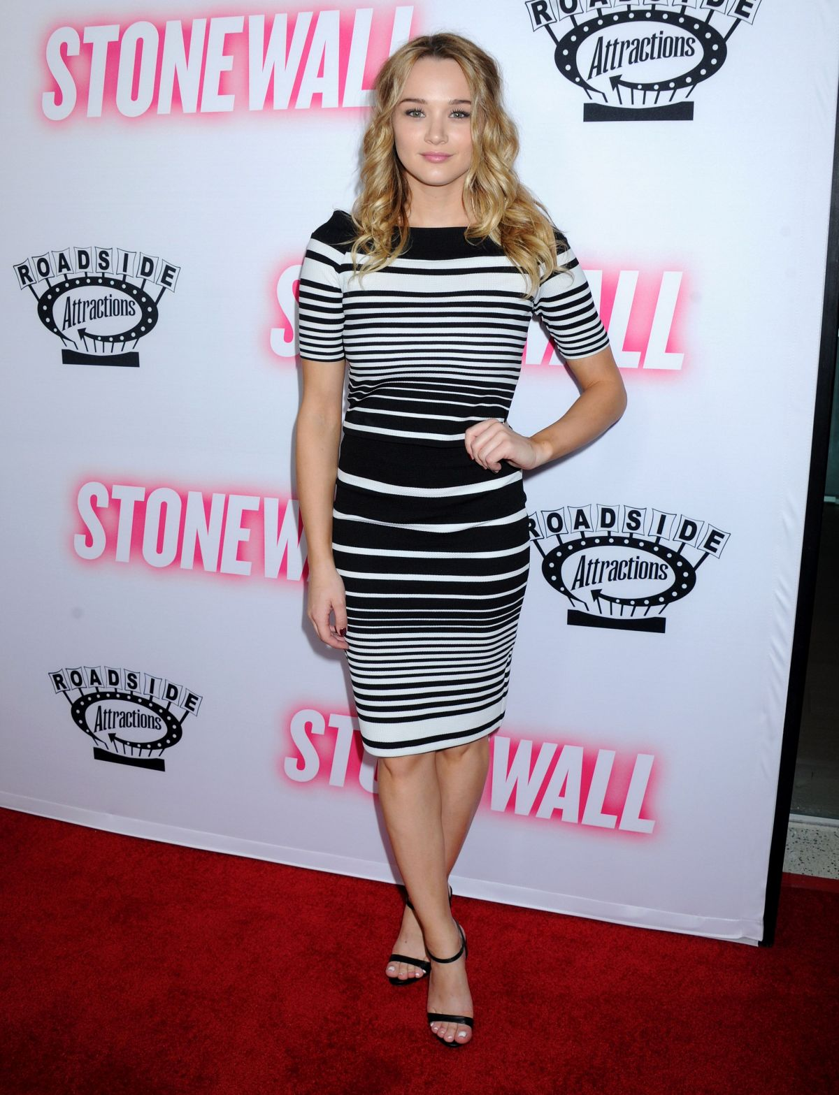 Hunter Haley King At Stonewall Premiere In West Hollywood