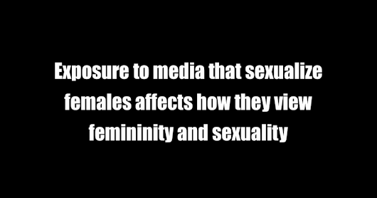 media and sexuality This feature is not available right now please try again later.
