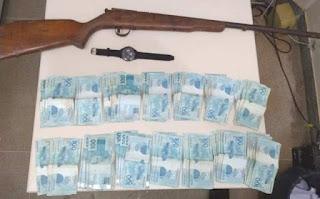 Polícia recupera R$14 mil reais roubados