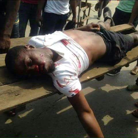 More graphic photos as Nigerian military shoots Biafrans