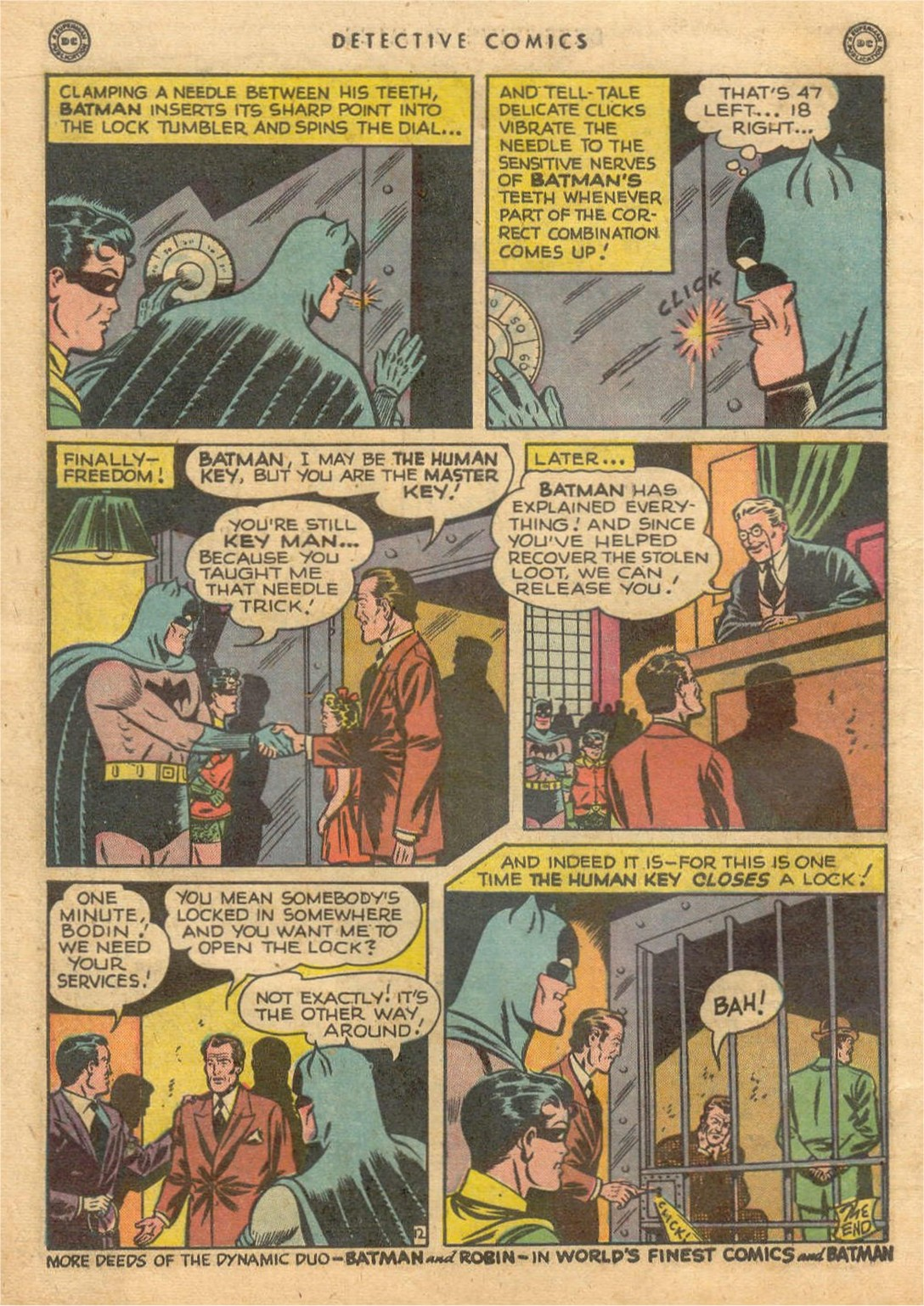 Read online Detective Comics (1937) comic -  Issue #132 - 14