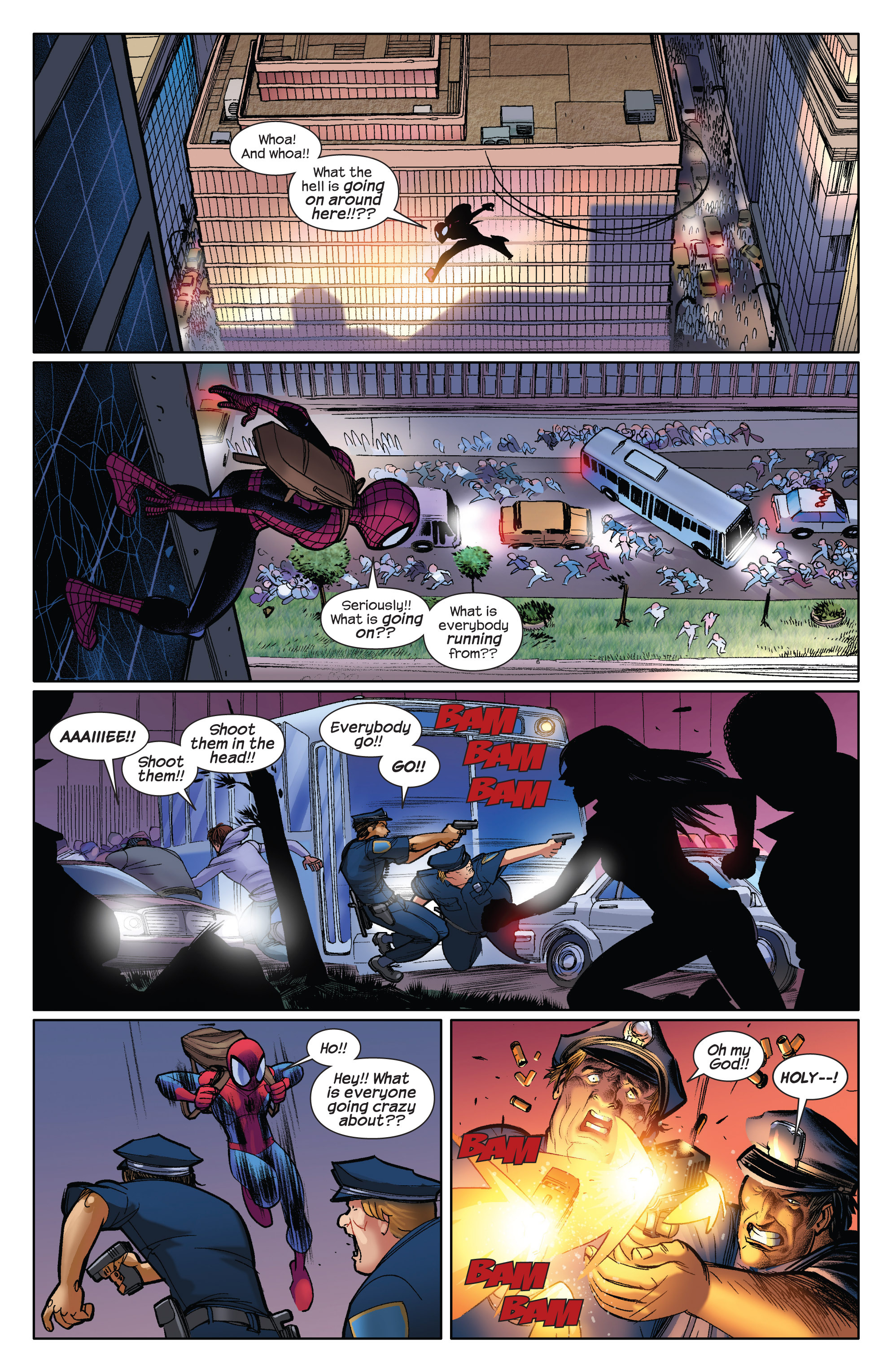 Read online Ultimate Spider-Man (2009) comic -  Issue #3 - 11