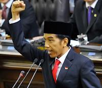 Susunan Kabinet terbaru Presiden Jokowi