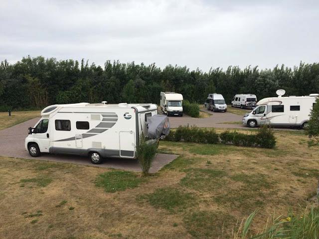 Area de autocaravanas de Ouddorp