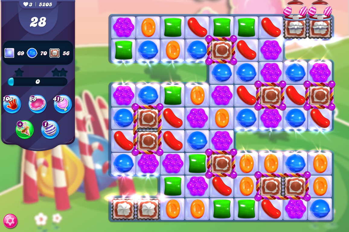 Candy Crush Saga level 5205