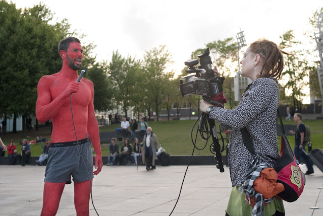 Manifestation toute nue (ou presque), ma-nu-festation, prise 2, 16 mai 2012, Montréal [photos David Champagne]