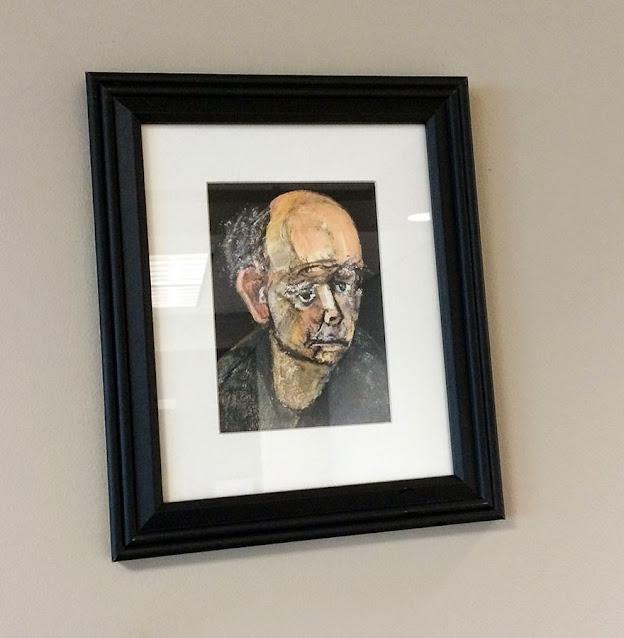 portret iskrivljenog lica 1997