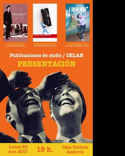 Publicaciones de Otoño del CELAN