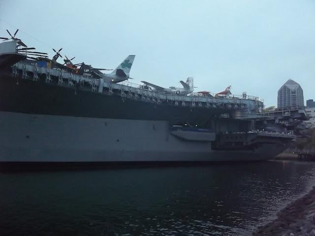 san diego-usa-voyages-memorial-bateau