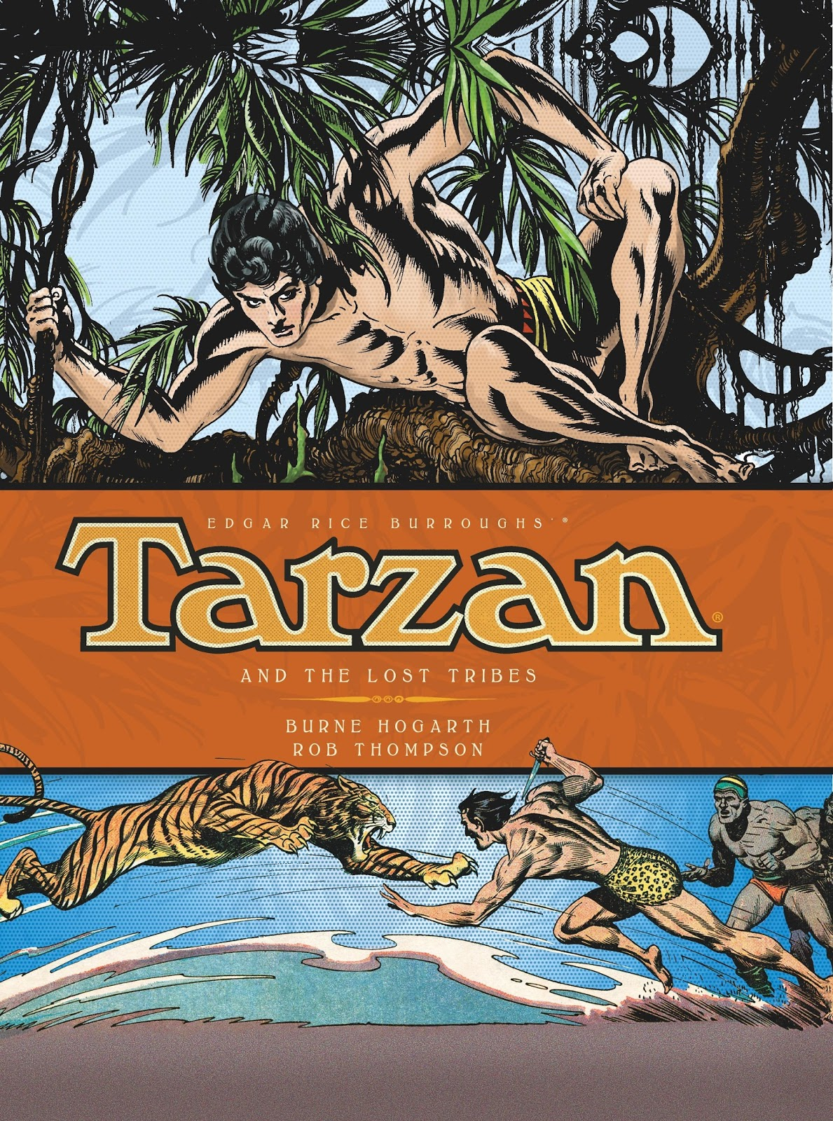 COMIC BITS ONLINE: Titan Books ~Tarzan And The Lost Tribes ...