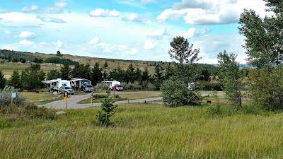 Lundbreck Falls Campground