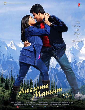 Poster Of Awesome Mausam 2016 Hindi 350MB DVDScr x264 Free Download Watch Online
