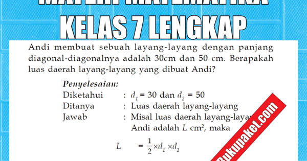 materi matematika kelas 7 smp  mts semester 1  2 lengkap