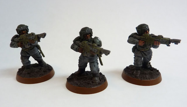 Astra Militarum infantry squad for Warhammer 40,000