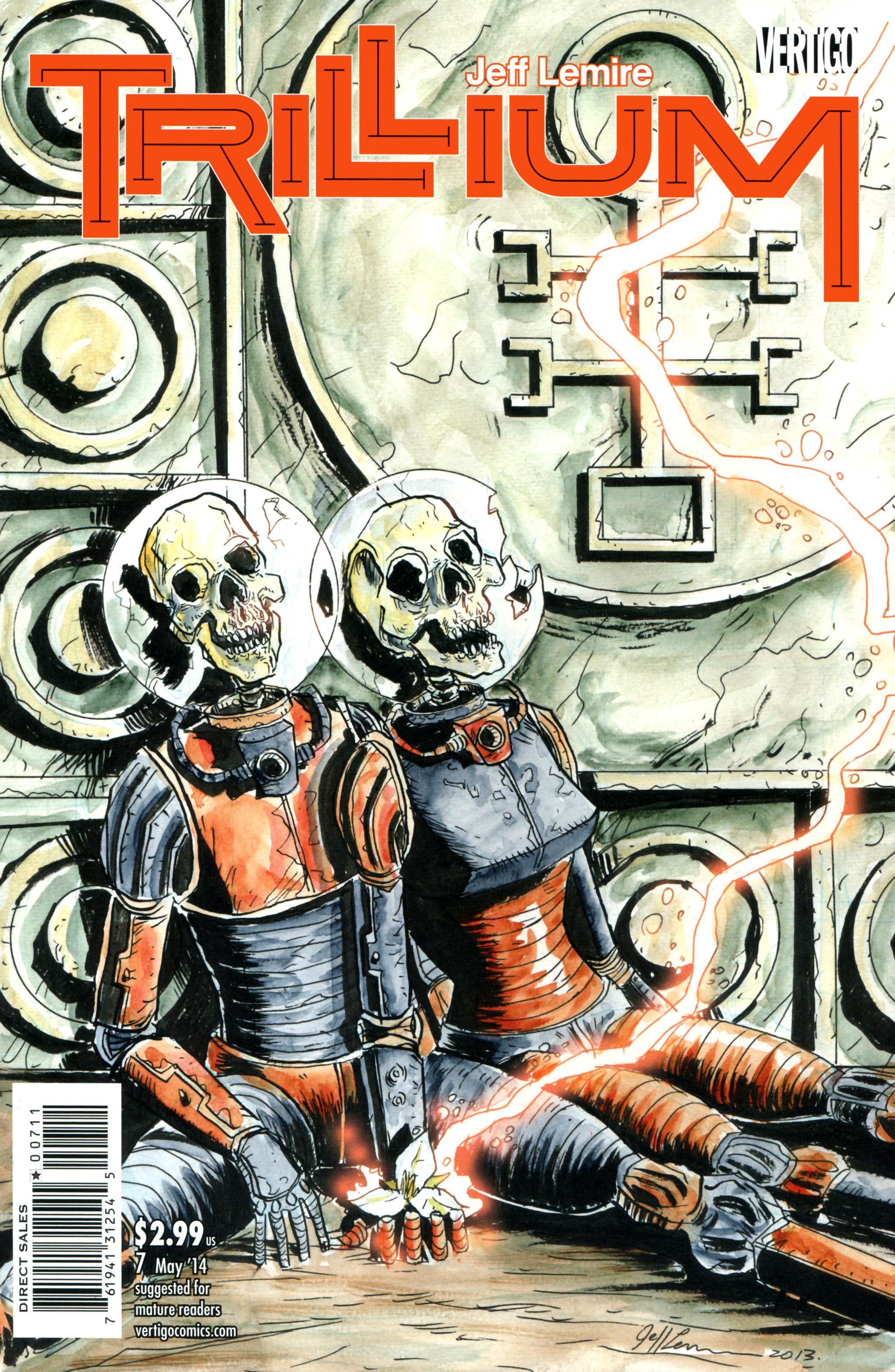 Read online Trillium comic -  Issue #7 - 1