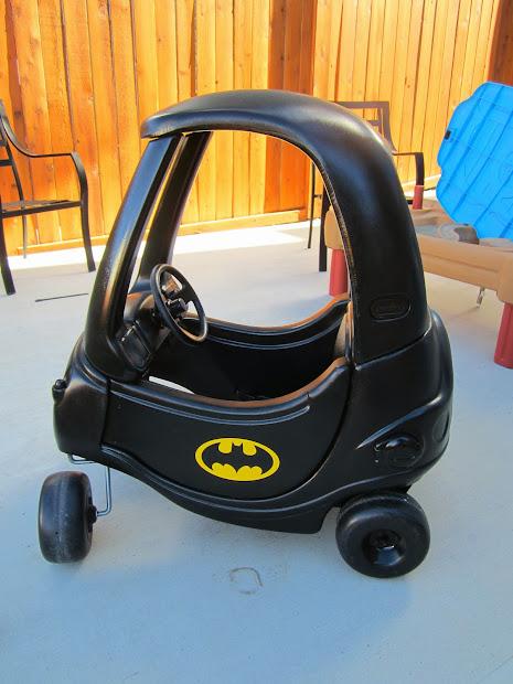 Batman Cozy Coupe Decals