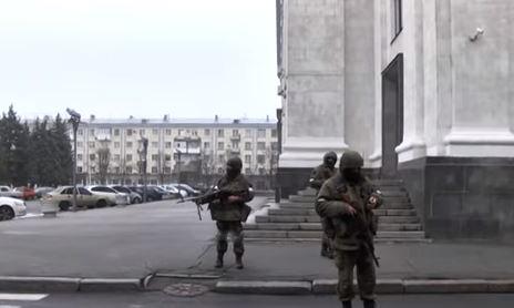 Переворот в Луганске