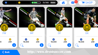 Download PES Mobile 2018 Mod Juventus v3.8 by Minimumpatch Apk + Obb